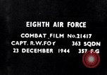 Image of 8th Air Force Germany, 1944, second 5 stock footage video 65675034792