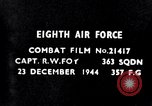 Image of 8th Air Force Germany, 1944, second 6 stock footage video 65675034792