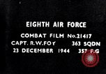Image of 8th Air Force Germany, 1944, second 7 stock footage video 65675034792