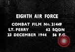 Image of 8th Air Force Germany, 1944, second 2 stock footage video 65675034793