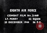 Image of 8th Air Force Germany, 1944, second 3 stock footage video 65675034793