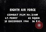 Image of 8th Air Force Germany, 1944, second 4 stock footage video 65675034793