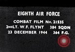 Image of 8th Air Force Germany, 1944, second 1 stock footage video 65675034801