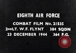 Image of 8th Air Force Germany, 1944, second 2 stock footage video 65675034801