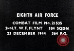 Image of 8th Air Force Germany, 1944, second 4 stock footage video 65675034801