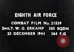 Image of 8th Air Force Germany, 1944, second 2 stock footage video 65675034802