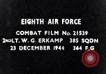 Image of 8th Air Force Germany, 1944, second 3 stock footage video 65675034802