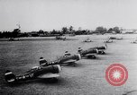 Image of USAAF fighter aircraft escorting B-17 bombers Germany, 1943, second 11 stock footage video 65675034816