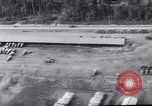 Image of trucks parked Ledo Road Tingkawk Burma, 1945, second 11 stock footage video 65675034822