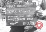 Image of 45th Engineer Regiment Ledo Road Shinbwiyang Burma, 1945, second 3 stock footage video 65675034823