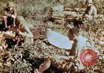 Image of prisoners Saipan Northern Mariana Islands, 1944, second 3 stock footage video 65675034834