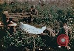 Image of prisoners Saipan Northern Mariana Islands, 1944, second 9 stock footage video 65675034834