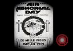 Image of Pamphlets and parade promoting Air Memorial Day Los Angeles California USA, 1919, second 2 stock footage video 65675034836