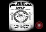 Image of Pamphlets and parade promoting Air Memorial Day Los Angeles California USA, 1919, second 4 stock footage video 65675034836