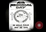 Image of Pamphlets and parade promoting Air Memorial Day Los Angeles California USA, 1919, second 7 stock footage video 65675034836