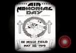 Image of Pamphlets and parade promoting Air Memorial Day Los Angeles California USA, 1919, second 8 stock footage video 65675034836