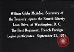 Image of William Gibbs McAdoo Washington DC USA, 1918, second 1 stock footage video 65675034847