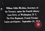 Image of William Gibbs McAdoo Washington DC USA, 1918, second 2 stock footage video 65675034847