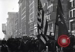 Image of Vice President Thomas R Marshall New York City USA, 1918, second 12 stock footage video 65675034853