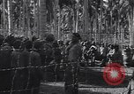 Image of Japanese prisoners behind barbed wire enclosures Guadalcanal Solomon Islands, 1942, second 3 stock footage video 65675034877