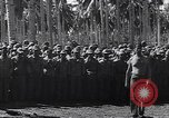 Image of Japanese prisoners behind barbed wire enclosures Guadalcanal Solomon Islands, 1942, second 7 stock footage video 65675034877