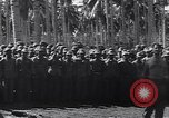 Image of Japanese prisoners behind barbed wire enclosures Guadalcanal Solomon Islands, 1942, second 8 stock footage video 65675034877