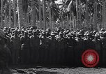 Image of Japanese prisoners behind barbed wire enclosures Guadalcanal Solomon Islands, 1942, second 10 stock footage video 65675034877