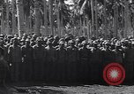 Image of Japanese prisoners behind barbed wire enclosures Guadalcanal Solomon Islands, 1942, second 11 stock footage video 65675034877