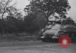Image of French 2nd Armored Division Javron France, 1944, second 9 stock footage video 65675034881