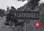 Image of American 3nd Armored Division France, 1944, second 10 stock footage video 65675034884