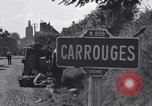 Image of American 3nd Armored Division France, 1944, second 11 stock footage video 65675034884