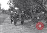 Image of wounded soldier of 8th Infantry Division Brest France, 1944, second 6 stock footage video 65675034896