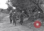 Image of wounded soldier of 8th Infantry Division Brest France, 1944, second 7 stock footage video 65675034896