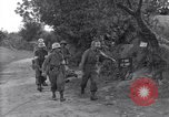 Image of wounded soldier of 8th Infantry Division Brest France, 1944, second 8 stock footage video 65675034896