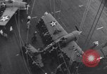 Image of US Naval Task Force raids Japanese-held Gilbert and Marshall Islands Pacific Theater, 1942, second 5 stock footage video 65675034908