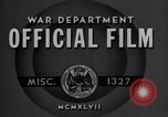 Image of Universal Military Training United States USA, 1947, second 5 stock footage video 65675034918