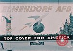 Image of air force base Elmendorf Air Force Base Alaska USA, 1954, second 9 stock footage video 65675034922