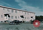 Image of carpenter Elmendorf Air Force Base Alaska USA, 1954, second 8 stock footage video 65675034927