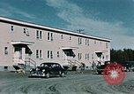Image of carpenter Elmendorf Air Force Base Alaska USA, 1954, second 12 stock footage video 65675034927