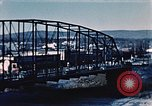 Image of steel bridge Alaska USA, 1954, second 2 stock footage video 65675034929