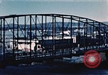 Image of steel bridge Alaska USA, 1954, second 5 stock footage video 65675034929