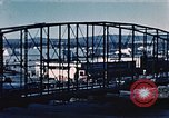 Image of steel bridge Alaska USA, 1954, second 6 stock footage video 65675034929