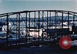 Image of steel bridge Alaska USA, 1954, second 7 stock footage video 65675034929