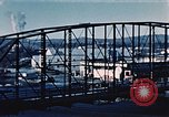 Image of steel bridge Alaska USA, 1954, second 9 stock footage video 65675034929