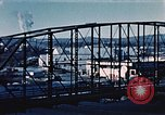 Image of steel bridge Alaska USA, 1954, second 10 stock footage video 65675034929