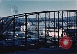 Image of steel bridge Alaska USA, 1954, second 11 stock footage video 65675034929
