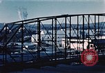 Image of steel bridge Alaska USA, 1954, second 12 stock footage video 65675034929