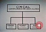 Image of organizational chart Alaska Elmendorf Air Force Base USA, 1954, second 8 stock footage video 65675034935