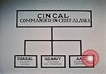 Image of organizational chart Alaska Elmendorf Air Force Base USA, 1954, second 10 stock footage video 65675034935