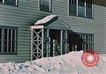 Image of doorway Alaska USA, 1955, second 4 stock footage video 65675034937